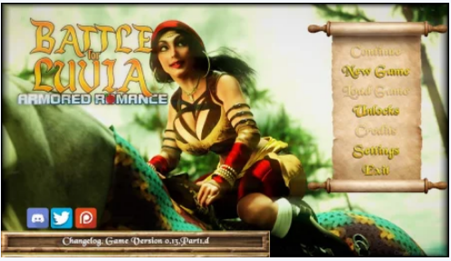 Battle for Luvia: Armored Romance 0.15 PC Game Download for Mac