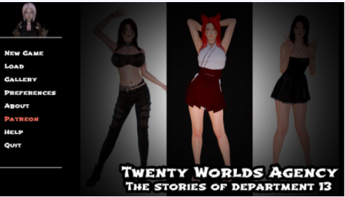 Twenty Worlds Agency - The Stories of Department 13 PC Game for Mac
